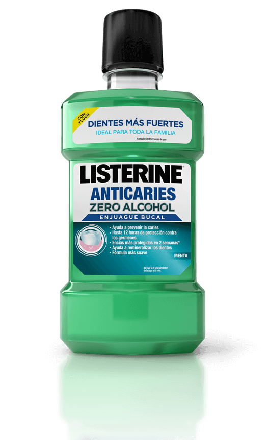 Listerine Anticaries Zero Alcohol