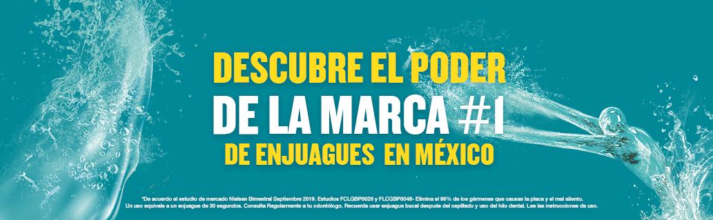Descubre el poder de la marca #1 de enjuagues en México